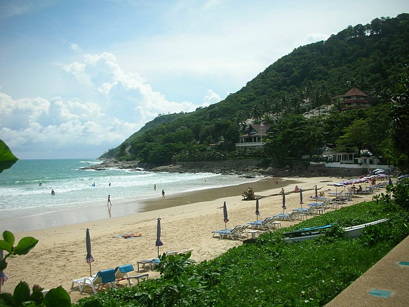 Пляж харн пхукет фото
